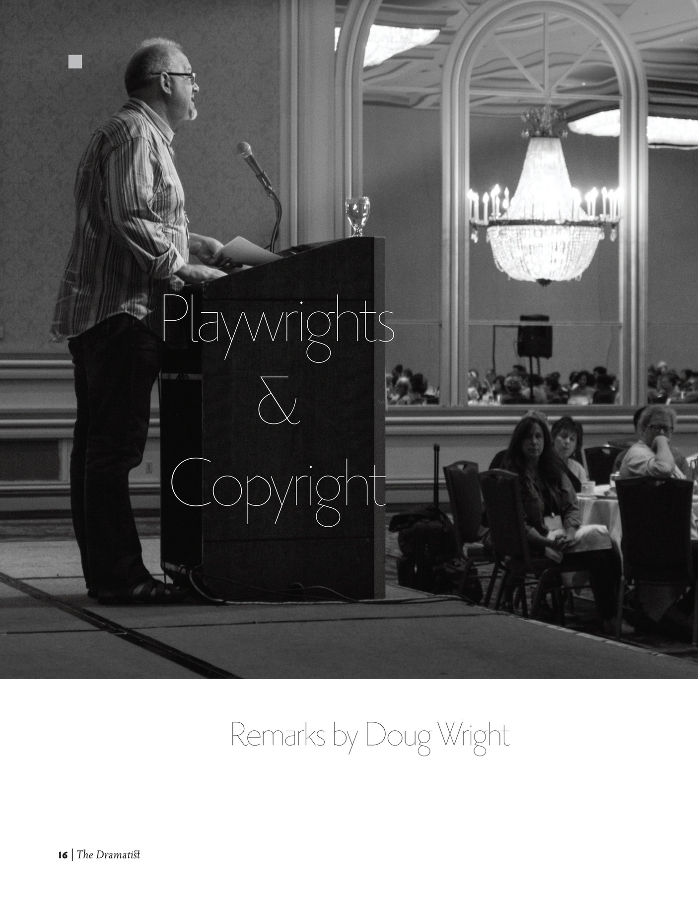 Playwrights and Copyright
