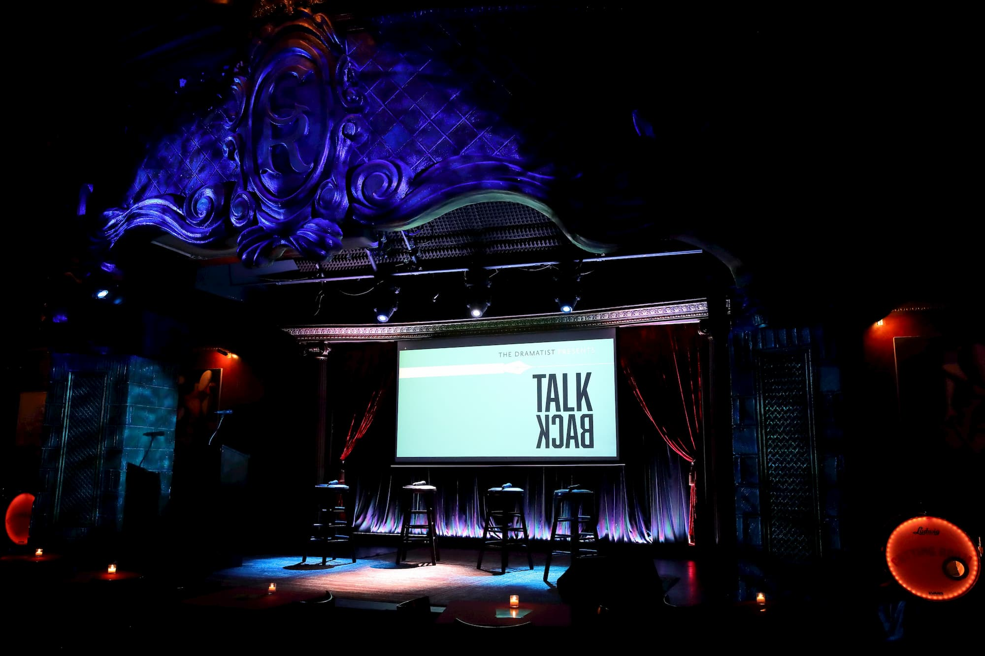 TalkBack Launch Party at The Cutting Room, NYC