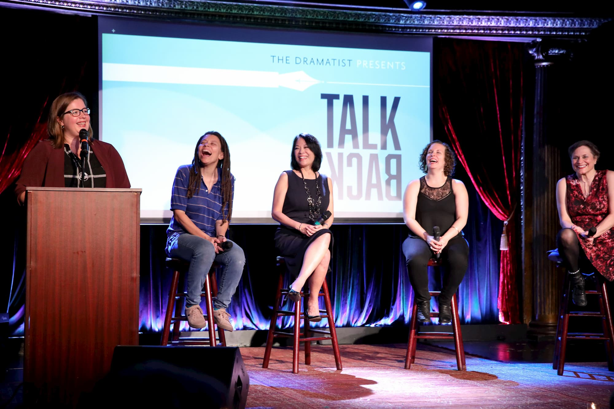 TalkBack Episode One Panelists