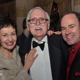 Stephen Flaherty and Lynn Ahrens with Thomas Meehan