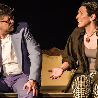 Production photo from Conversations About an Empty Suit