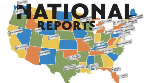 National Reports Map