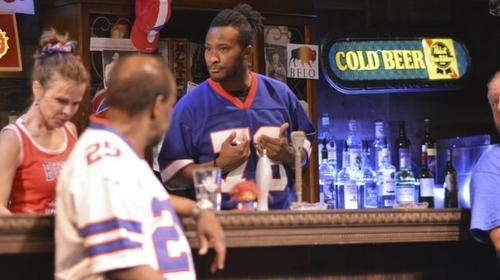 "Scene from ""Once In My Lifetime: A Buffalo Football Fantasy."""