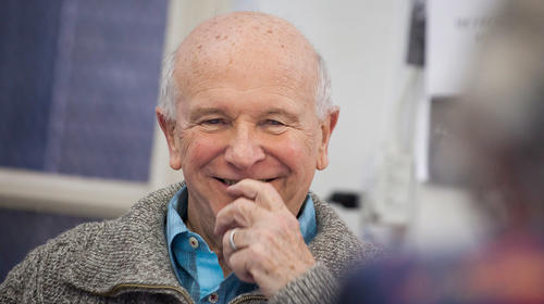 Terrence McNally - Photo by Michael Nagle