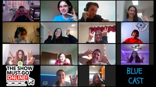 Original Kids Theatre Company (London, Ontario) – Virtual read-through of The Show Must Go Online!