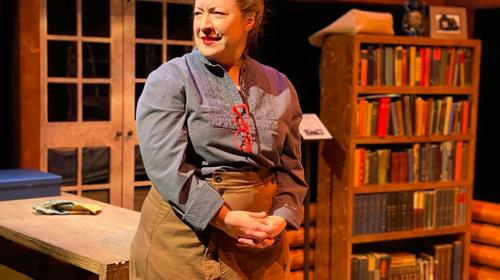 April Fossen in The Audacity at Plan-B Theatre