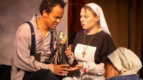 The Mélange Theatre Company production of Saint Somebody