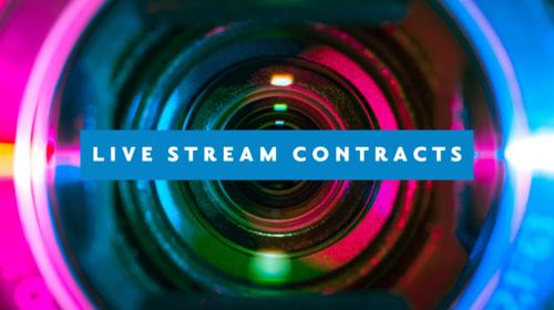 Live Stream Contracts