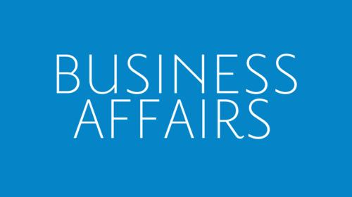 Business Affairs