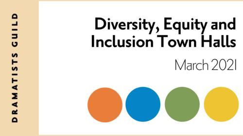 Diversity, Equity and Inclusion Town Halls